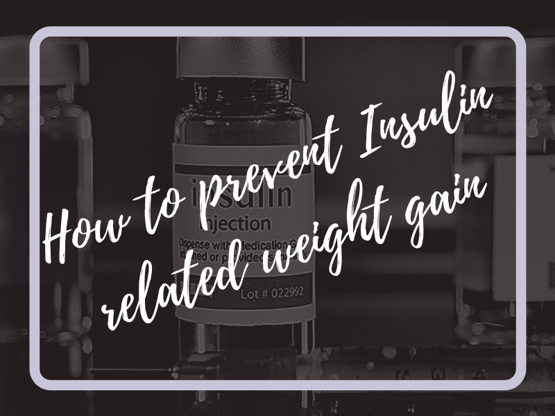 insulin related weight gain