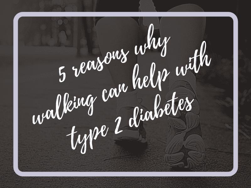 walking, diabetes